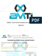 Zabbix Construindo Templates Personalizados Instalacao Nutela