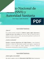 Servicio Nacional de Salud (SNS) y Autoridad Saitaria (1)