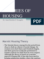 Theories of Housing & Housing Typologies