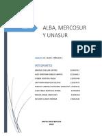 alba mercosur y unasur  FINAL.docx