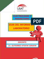 Guia Del Informe de Laboratorio Electricidad y Magnetismo