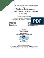 astudyonperformanceappraisalsystemathdfcbanklucknow-160903151259.pdf