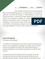 A Colonizacao Portuguesa Na America