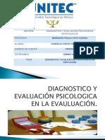 Entregable #1 Diagnostico y Ev. Psi.