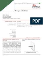 Chemkeys - Lei Dos Processos de Absorção Da Radiação