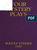 Four Mystery Plays by Rudolf Steiner