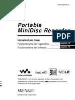 Portable MiniDisk Sony manual.pdf