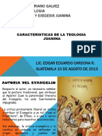 Caracteristicas Generales Del Evangelio de Juan
