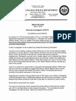SCPD Media Release