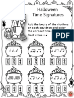 Halloween Time Signatures. SEC PDF