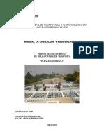 Manual Oper y Mant.planta Cachiyacu