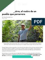 Ezequiel Aguirre, El Rostro de Un Pueblo Que Persevera