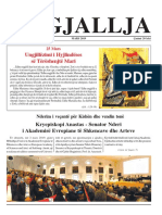 "Gazeta ""Ngjallja"" Mars 2019"