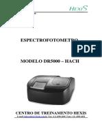 Espectrofotômetro - DR5000