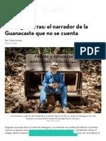 Santiago Porras_ El Narrador de La Guanacaste Que No Se Cuenta