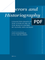[Mnemosyne Supplements volume 319] D.W.P. Burgersdijk, J.A. van Waarden (editors) - Emperors and Historiography_ Collected Essays on the Literature of the Roman Empire by Daniël den Hengst (Mnemosyne Supplements 319) (2009.pdf