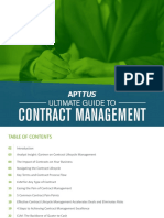 Ultimate Guide to Contract Management Apttus