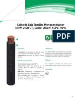 Cables Rhw-2 Cu 2000v Xlpe_25 Ene 2019