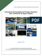 Qualidade Dos Produtos Químicos - 2013 05