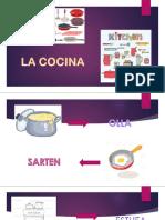PARTES DE LA COCINA EN INGLES