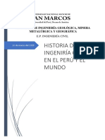 Historia de La Ing. Civil