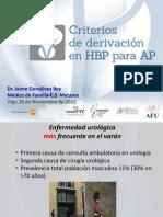 CRITERIOS 3.0 HBP