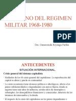 Gobierno Del Regimen Militar 1968 1980