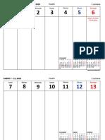 Organizador Planificador Semanal PDF 13b96f56