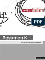 Esencialismo Newsletter 1