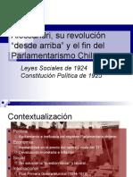 Alessandri, su revolución