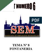 Test Fontanería Nº 6 Logo Sem