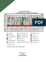 Calendario Acadmico - Gestin 2019