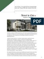 Actualdecluj.ro-case de Afaceri La Cluj 17 Ha de Birouri Programate La Cluj În Următorii Ani Peste 90 Din Cerere Vine