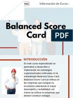 Curso Balanced Score Card