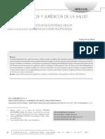 Aspectos Eticos y Juridicos de La Salud Ocupacional