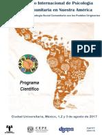 Coloquio 2017 - Programa Científico Final