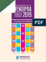 Dossier Prensa. Vendimia 2019