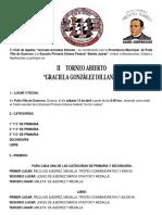 Convocatoria Ajedrez Putla 2019