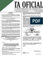 Gaceta Ext 5976 Ley de Reforma Ley Del Seguro Social