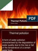 Thermal Pollution by Phibisha Joseph