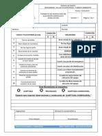 Check List de Elevador Hidraulico