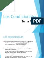 Tema 19 - Los Condicionales