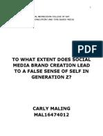 Generation Z and social media.