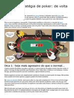 Guia de Estratégia de Poker