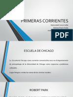 Primeras Corrientes