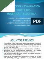 Evaluación de Proyectos Electricidad . Introducción (1)
