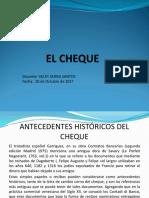 EL CHEQUE.ppt