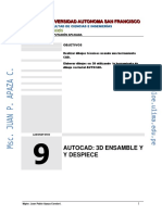 Lab Autocad 3D 09 02