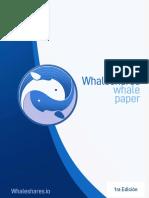 Whitepaper Whaleshares Espanol