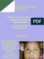 Tema 01 - Retinopatia de La Prematurez
